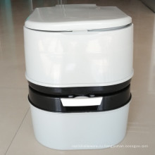 20L 24L пластиковый портативный туалет Открытый мобильный туалет
