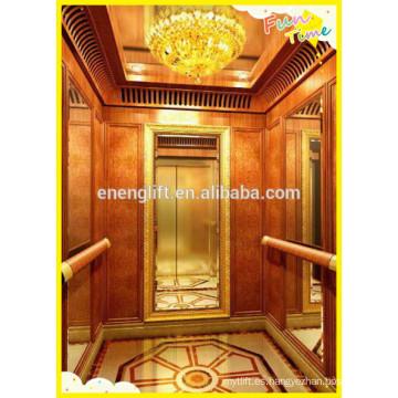 Alta calidad sala de máquinas residenciales menos ascensor de pasajeros