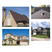 Colorful Stone Coated Metal Roofing Tiles