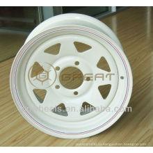 Колесные диски для прицепов с различной поверхностью 14X6,15X5,15X6