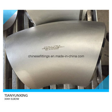 Long Radius 45 Degree A403 304h Stainless Steel Elbow