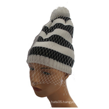 Colorful Knitted Beanie Winter Knitted Hat Lady Beanie Caps
