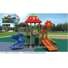 EN71 Approved Outdoor Playground Plastic Amusement Slides B10216
