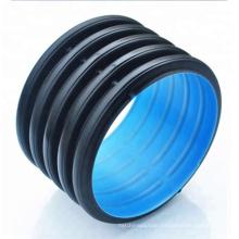 Black polyethylene corrugated plastic culvert drain pipe prices for sale