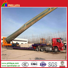 Semi Lowbed Extendable Trailer for Wind Blades