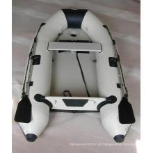 Barco inflável de PVC com piso de colchão de ar