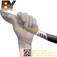 Knife Cutting Protective Stainless Steel Mesh Glove Chainmail Gloves