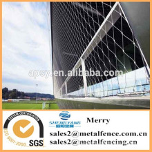 stainless steel decorative rope wire mesh for building facade