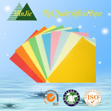 Colorful Copy Paper for Text Book Raw Color Paper Direct Factory