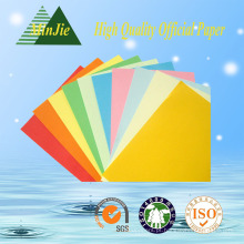 Papel colorido da cópia para o livro de texto Papel da cor crua fábrica direta