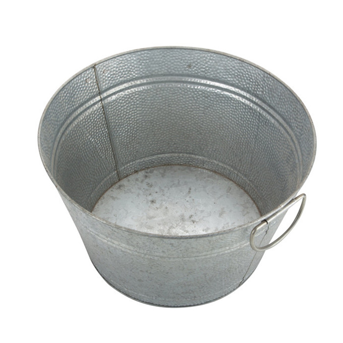 Metal Beverage Tub Outdoor Bucket Party Tub