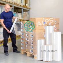 Alps Industrial Packaging Film Wrapping Pallet Covers Stretch Wrap lldpe Stretch Film Roll