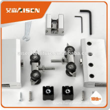 With 9 years experience factory directly 2015 new products aluminum alloy sliding door hardware