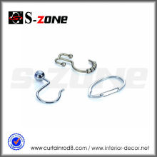 Szone curtain accessory iron curtain rod pin hook