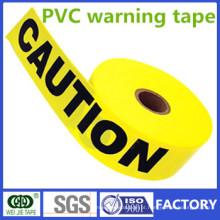 Única ou dupla cores PVC fita de advertência Fabricante