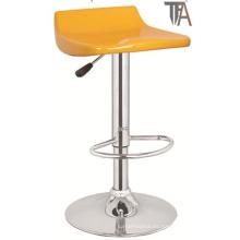 Taburete de bar amarillo moderno para los muebles de la barra