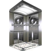 OTSE fancy big stainless steel / hairline passenger elevator
