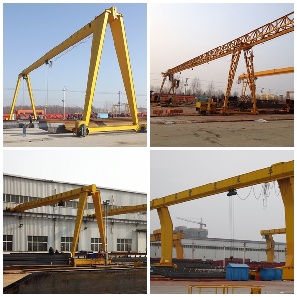 8T Single Girder Gantry Crane
