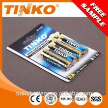 TINKO Brand alkaline battery 1.5v 2300mAh aa lr6 am3 dry