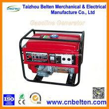Générateur d'essence de démarrage électrique approuvé CE 6kw