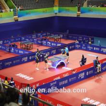 Enlio Vinyl Table Tennis Floor with ITTF