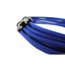 Câble d'extension d'alimentation pour ordinateur GPU bleu 8 broches PCI-E
