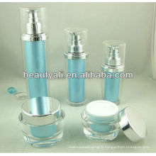 Oval Acrylic Cream Container For Cosmetics