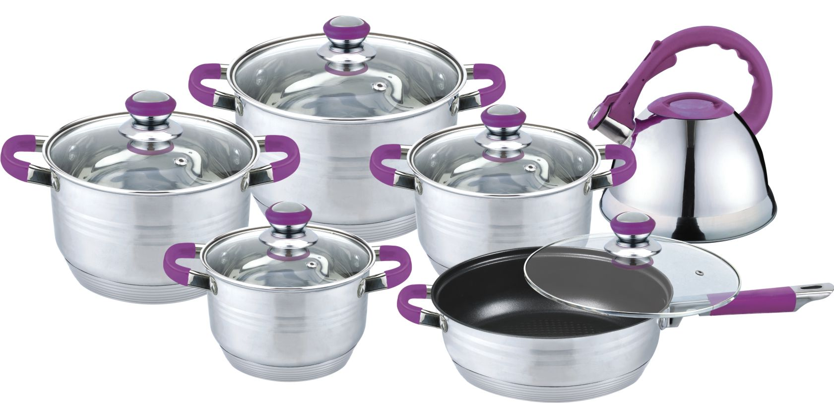Purple 11pcs metal product in CANADA