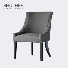 Usine vente directe meubles à la maison tissu intérieur salle à manger chaises