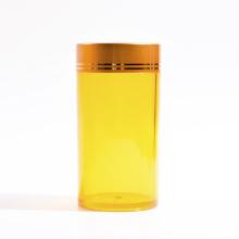 Frasco plástico do cilindro de 95ml para produtos de cuidados médicos (EF-J21095)