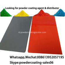 Elektrostatik semprot Zinc Rich Primer Powder Coating