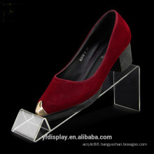 Strong Stand Acrylic Shoes Holder For Sell