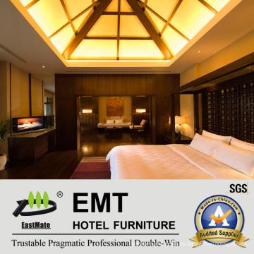 Diseño de madera moderno del dormitorio del diseño de Furnitute (EMT-HTB08-8)