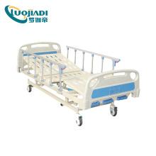 Cama de hospital eléctrica multifunción ABS / cama médica / cama de UCI