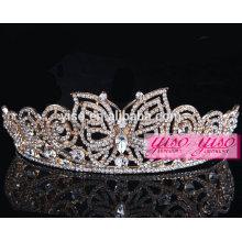 Corona real de la tiara de la boda del día de fiesta del