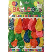 JML fatory directo más barato venta caliente látex globos impresos globos para la fiesta