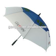 paraguas de golf de fibra de carbono