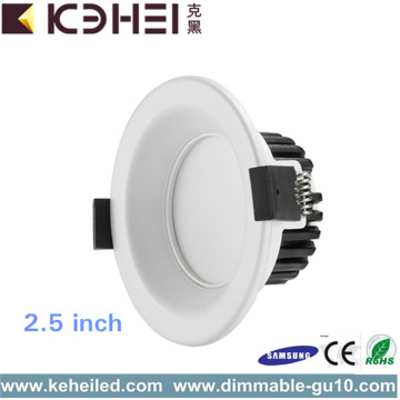 Teto LED Downlight Dimmable 5W 2,5 Polegadas