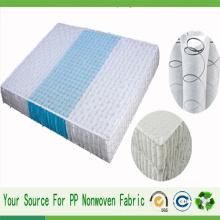 Cubierta de colchón no tejida 100% de la tela del sofá del polipropileno