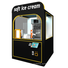 Máquina expendedora de helados robot