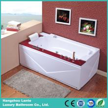 Угловая вихревая ванна с деревянной панелью (TLP-679-WOOD)