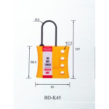 Corrosive-proof and Explosion-proof Non-conductive Nylon Insulated Lockout Hasp BOSHI BD-K45