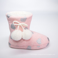 China Manufacture Quality Children Cute Warm Comfort Slippers Kids Indoor