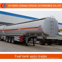 Oil Tank Semi Trailer 3 Axles Fuel Tank Semi Trailer