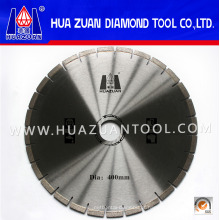 Lâminas de serra de diamante de 400 mm para soldagem de alta frequência com segmento de diamante para corte de concreto