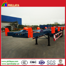 Container Delivery Skeleton Terminal Port Semi Trailer