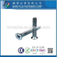 Hecho en Taiwán tornillo de acero inoxidable tornillos torx brillantes Torx unidad de acero inoxidable avellanado