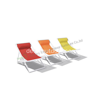 Spezial-Design pulverbeschichteten Aluminium Beach Chair