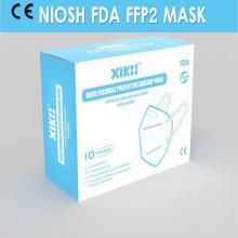 Máscara NIOSH FFP2 estándar desechable de polvo KN / N95
