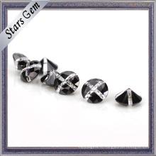 Круглый конкурентоспособная Цена Multi-цвета белый и черный камень